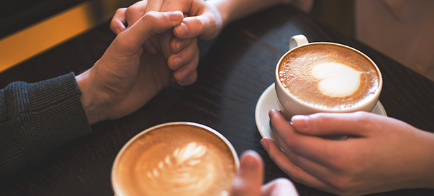 If you are a lover of great conversations, then going to a coffee shop is the ideal idea for your first date.