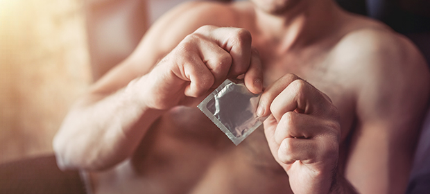 Engaging and intense sex requires a perfectly fitted condom.